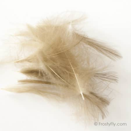Hemingway's CDC Feathers - Natural Light Brown