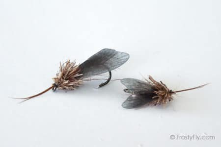 Realistic Caddis Fly Dry - Black