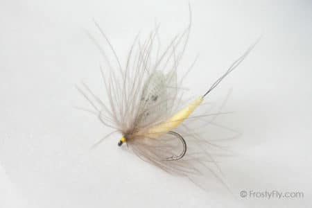 Hemingway's Realistic Mayfly Dry - Light Yellow