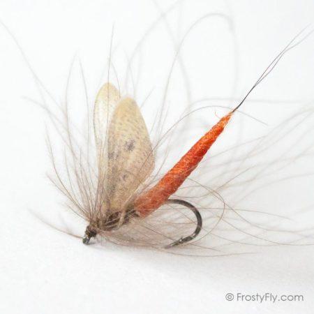 Hemingway's Realistic Mayfly Dry - Mahogany