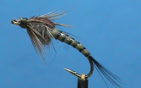 Hemingway's Synthetic Quill Mayfly Nymph