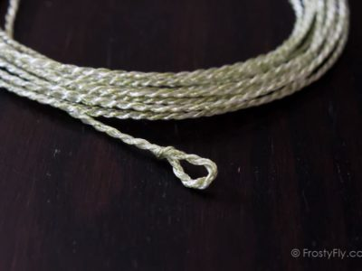 FrostyFly Tapered Furled Leader - Monofilament- and Braided Line