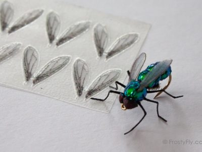 FrostyFly Realistic Bottle Fly Wings