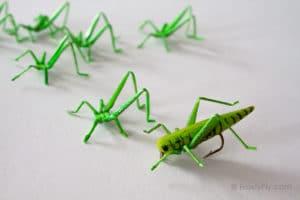 Realistic Hopper Legs 3D - Green