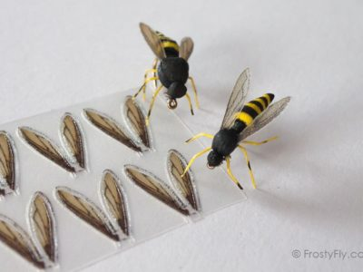 FrostyFly Realistic Wasp Wings
