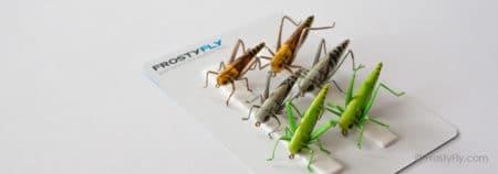 Realistic Flies - Hopper - Set of 6 Flies
