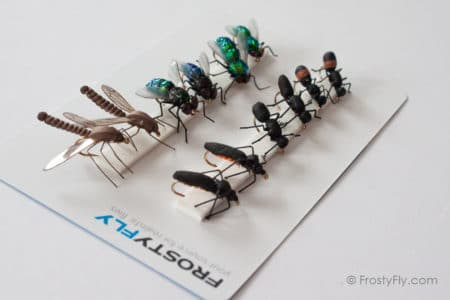 Realistic Flies - Terrestrials - Set of 12 Flies