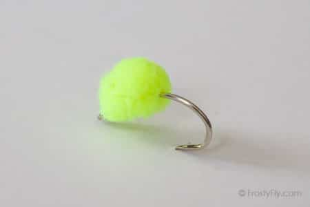 McFly Foam Egg Fly - Chartreuse