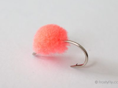 McFly Foam Egg Fly - Pink