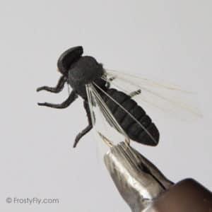Realistic Big Black Flying Ant