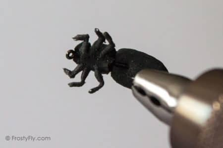 Realistic Black Bug Fly