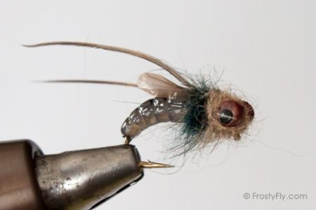 Realistic Caddis Emerger - Smokey