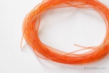 Frosty Fly - Stretch Round Rib - Orange