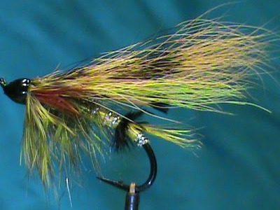 Jim Misiura's Green Highlander Variation Salmon Fly