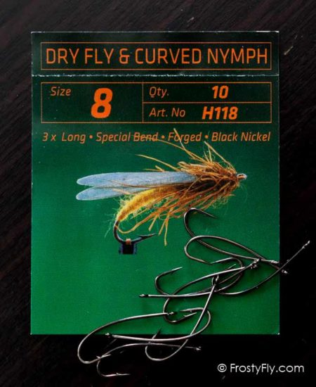 Hemingway's H118 Curved Nymph Fly Hooks