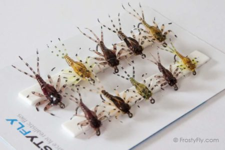 Hemingway's Realistic Mayfly Nymph Selection - 10 Assorted Flies