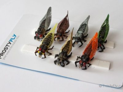 Realistic Flies - Cicadas - Set of 7 Flies