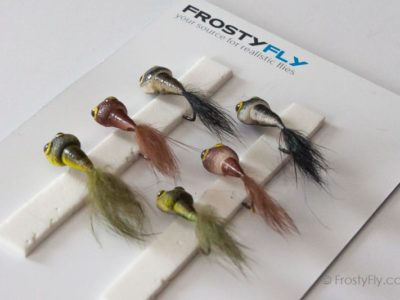Realistic Flies - Tadpoles - Set of 6 Flies
