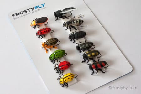 Realistic Flies - Terrestrials 2 - Set of 12 Flies