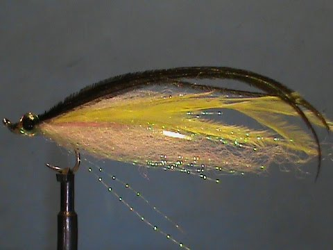 Jim Misiura's Yellow Ostrich Herl Streamer