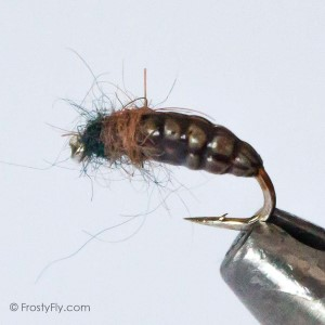 Realistic Caddis Nymph