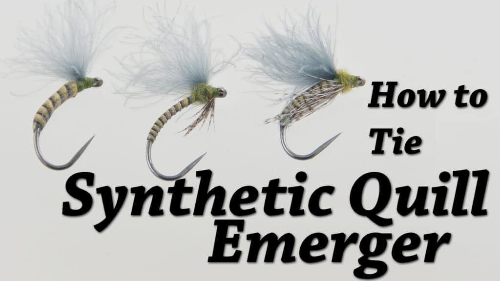 Kevin Hospodar's Synthetic Quill Emerger