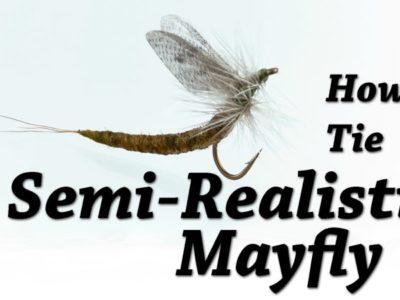 Kevin Hospodar's Semi Realistic Mayfly
