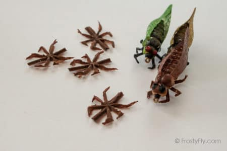 Realistic Flexy Insect Legs Cicadas & Large Bugs