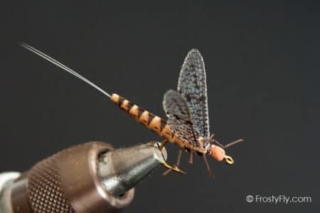 Realistic Mayfly Dry - Brown Drake