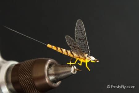 Realistic Mayfly Dry - Hexagenia