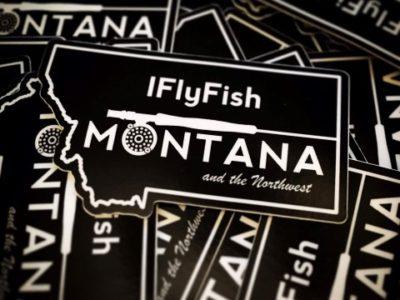IFlyFishMontana Stickers