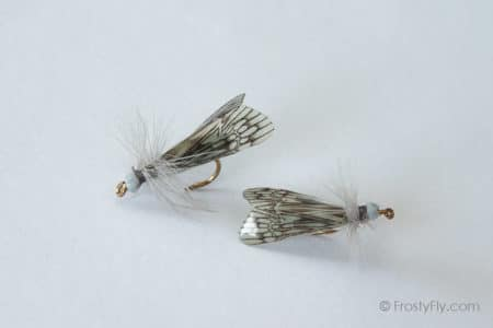 Realistic Caddis Fly Dry II - Gray