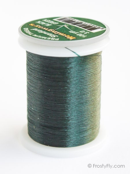 Hemingway's Standard Thread - Black Green