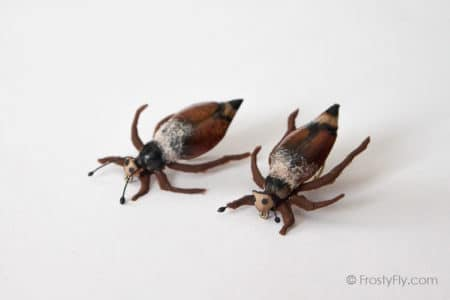 Realistic Cockchafer Beetle Flies - Brown