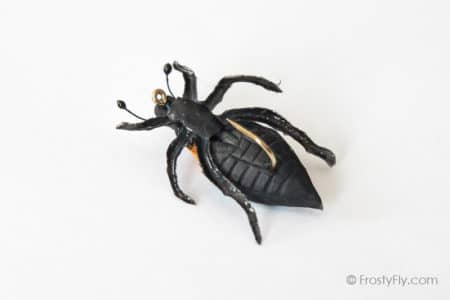 Realistic Cockchafer Beetle Flies - Blue