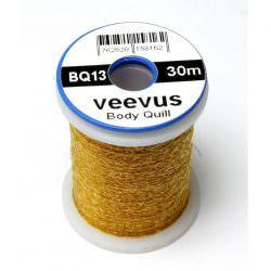 VEEVUS Body Quill Thread BQ13 - Gold Brown