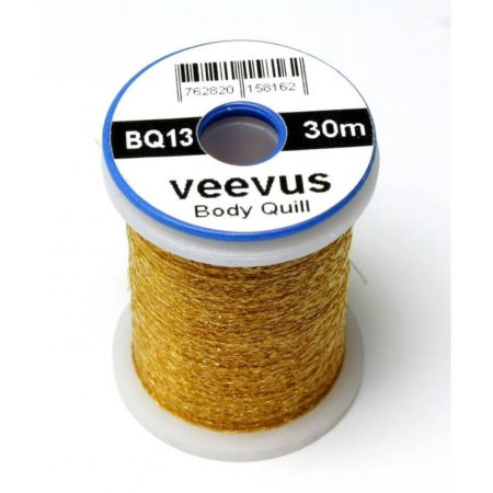 VEEVUS Body Quill Thread BQ13 - Gold Brown