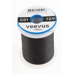 VEEVUS Thread 12/0 C01 Black