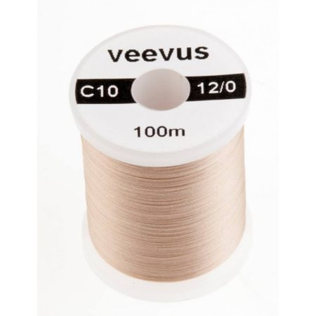 VEEVUS Thread 12-0 C10 Pale Tan - FrostyFly