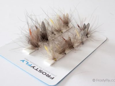Realistic Flies - MAYFLY Selection of 10 Flies - Assorted