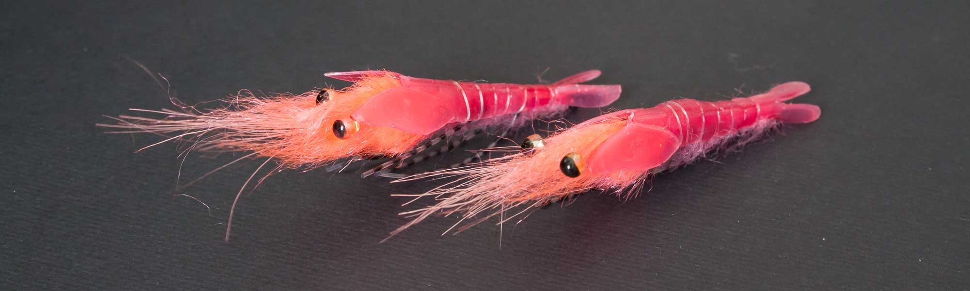 Realistic Pink Shrimp Flies