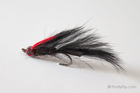 Black Matuka Streamer Fly