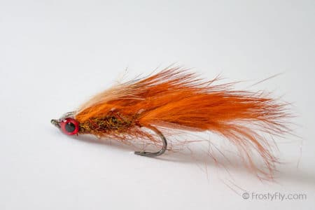 Brown Matuka Streamer Fly