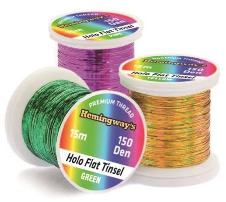 Hemingway's Holo Flat Tinsel Threads