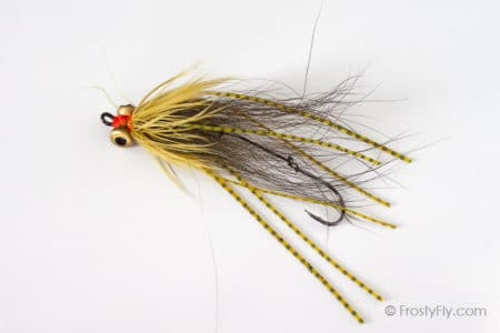Olive Micro Intruder Fly
