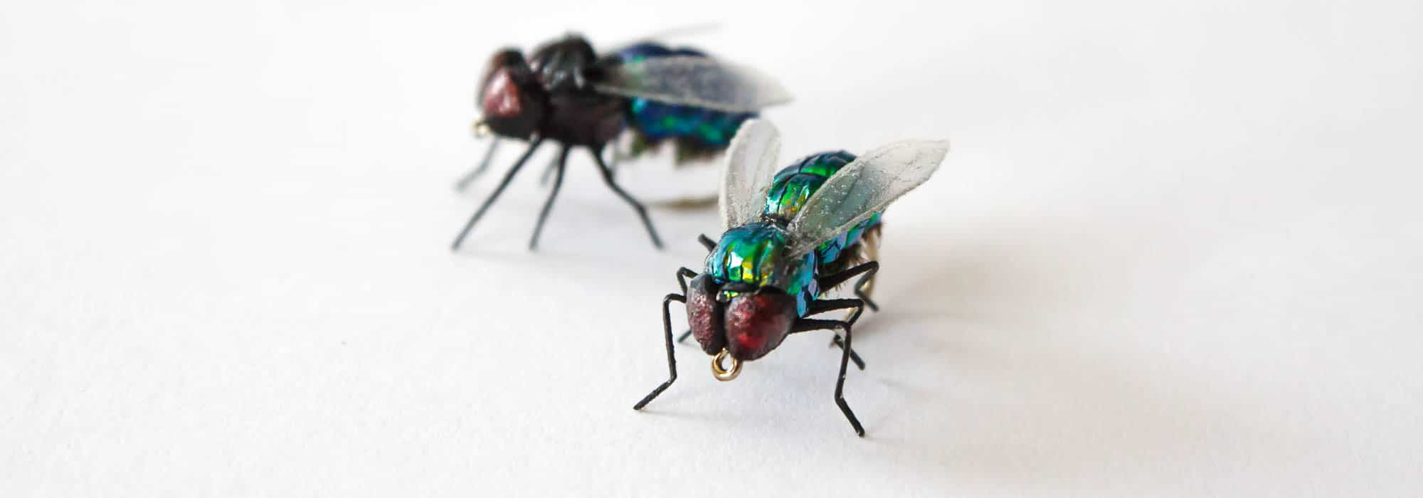Realistic Terrestrials - Green Bottle Flies