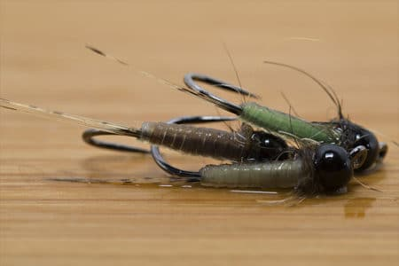 Tying the Micro Nymph with Catgut - Final Fly - Wet