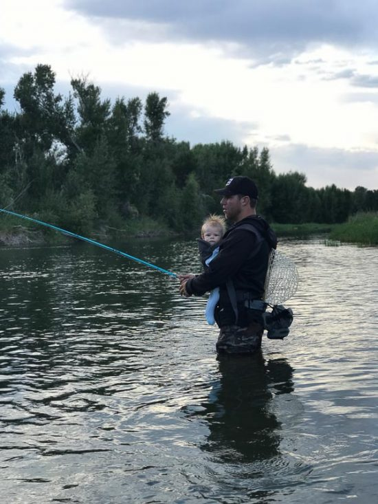 Ethan - Fly Fishing with a Baby in Tow