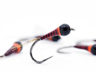 Hot Spot Red Quill Barbless Frenchie