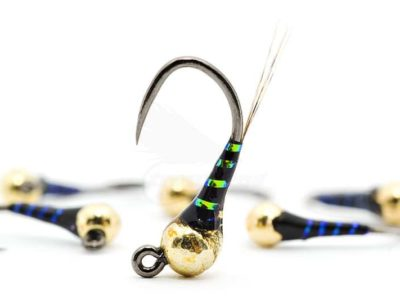 Racing Black UV Jig Perdigon Nymph